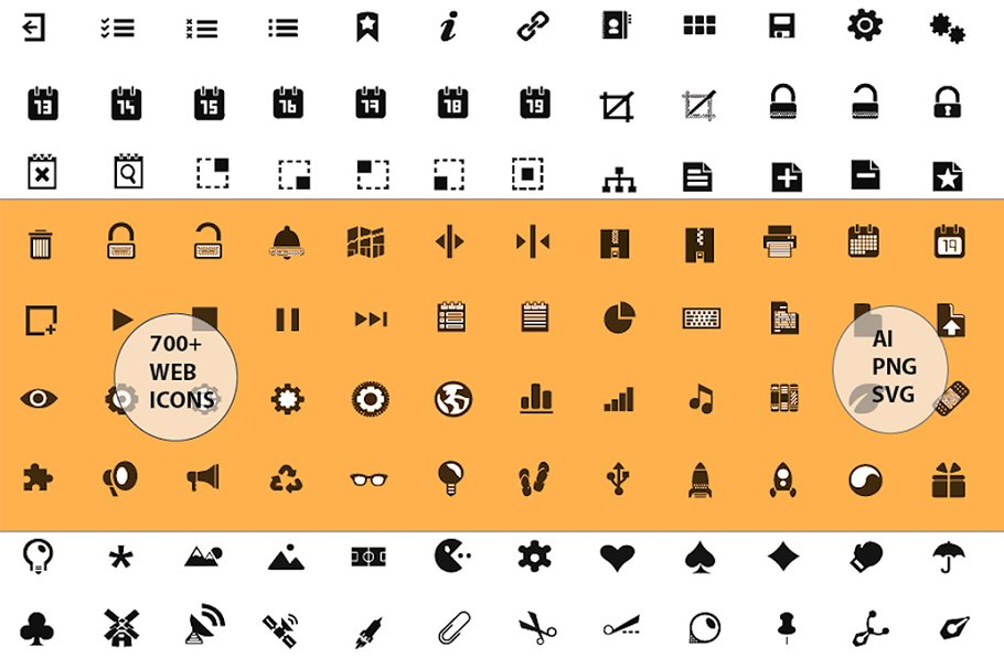 720 Web Icons