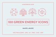 Line Icons – Green Energy