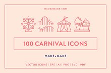 Carnival Line Icons