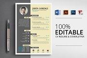 CV Resume Word Template