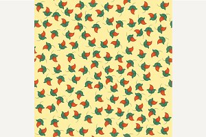 Seamless tiny floral pattern backgro
