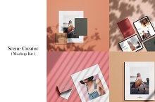 Scenes Creator - (Mockup Kit) by  in Scene Creator