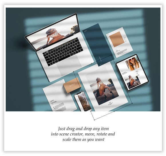 Scenes Creator - (Mockup Kit) in Scene Creator Mockups - product preview 9