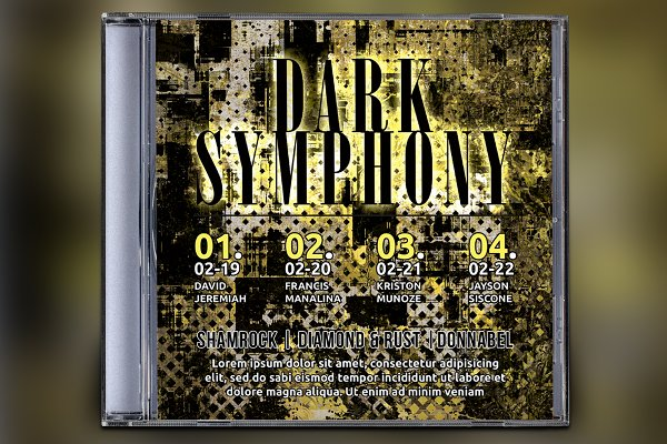 Dark Symphony CD Album Artwork