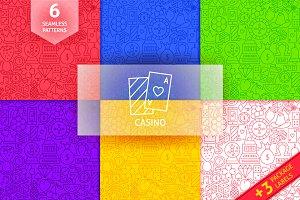 Casino Line Tile Patterns