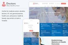 Doctors Pro - Medical WordPress Them