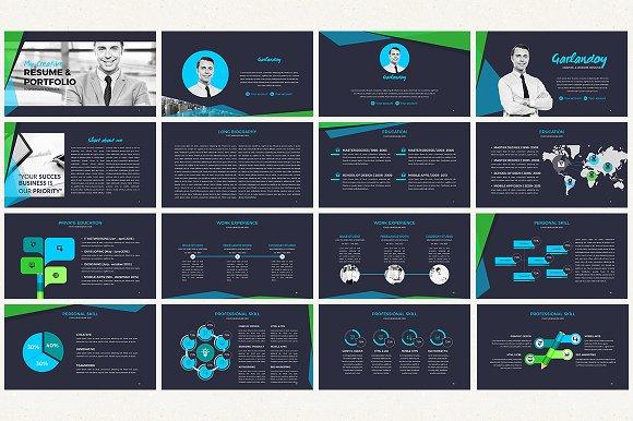 the creative resume presentation presentation templates creative