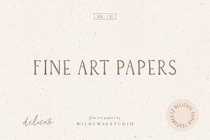 Fine Art Papers Vol. I