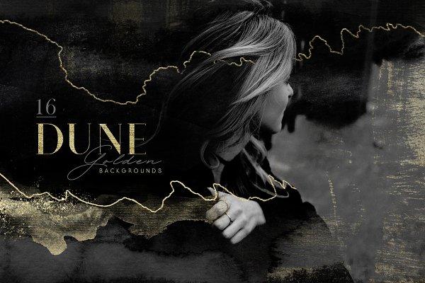 "Textures: Anastezia Luneva - ""Golden Dune"" Backgrounds"