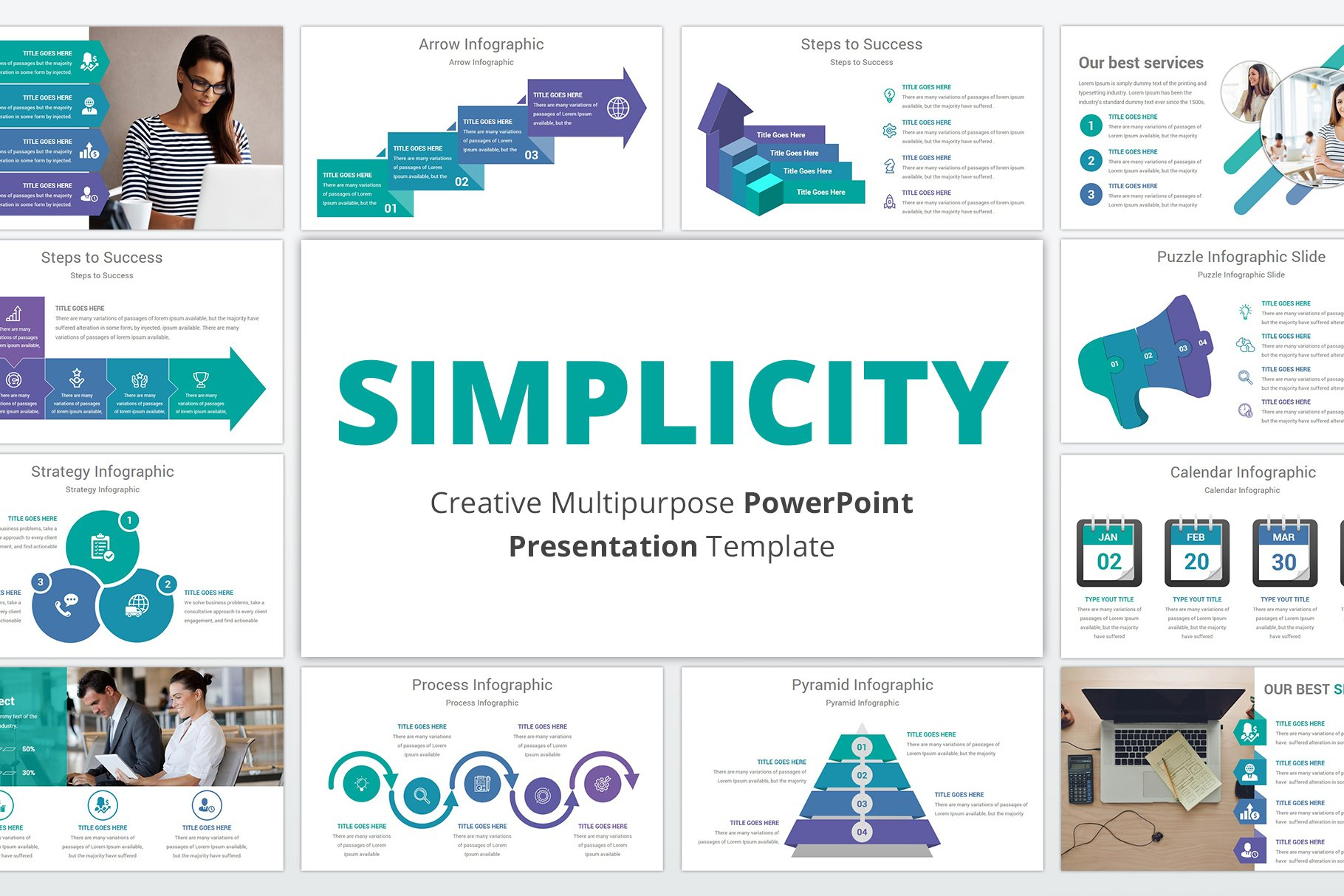 Simplicity PowerPoint Template   Creative PowerPoint ...
