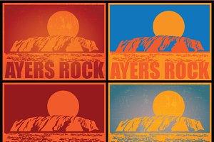 Ayers Rock mini Set