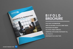 Corporate Bifold Brochure Vol 01