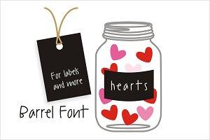 Barrel Font