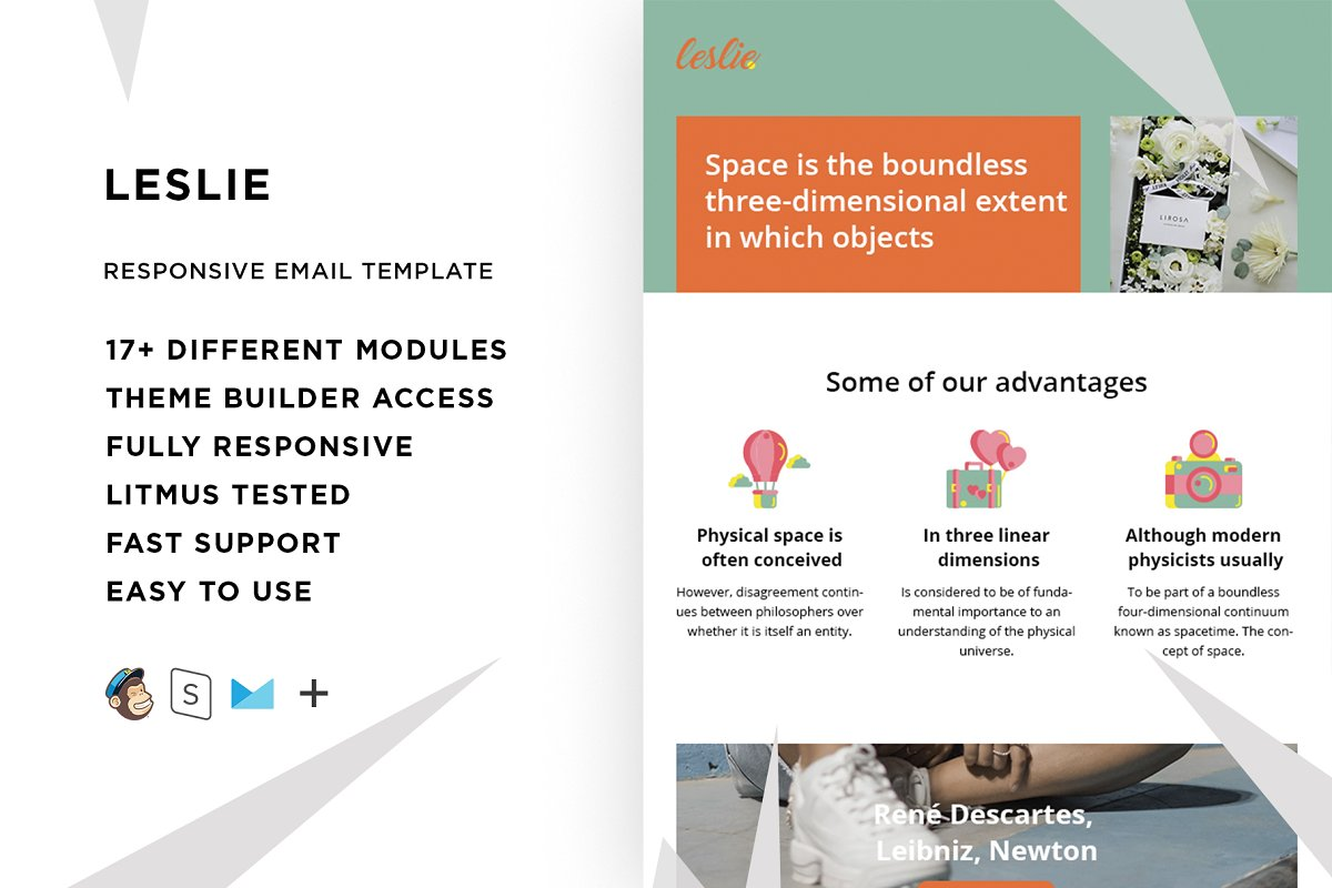 Leslie – Responsive Email template