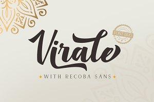 Virale Recoba Font Duos