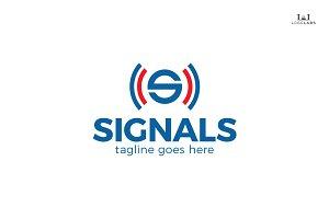 Signals - Letter S Logo
