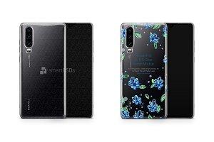 Huawei P30 UV TPU Clear Case Mockup
