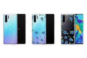 Huawei P30 Pro UV TPU Clear Case
