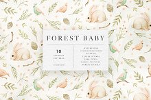 Forest Baby Patterns by  in Patterns