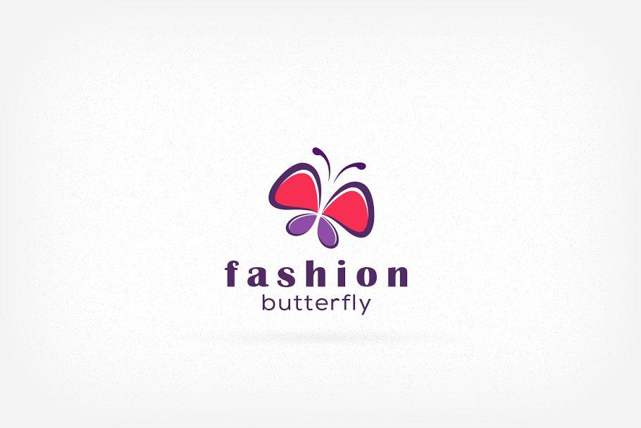 Fashion Butterfly Logo