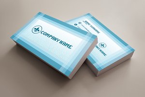 Blue multipurpose business card