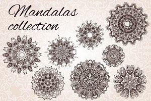 8 Vector Mandalas