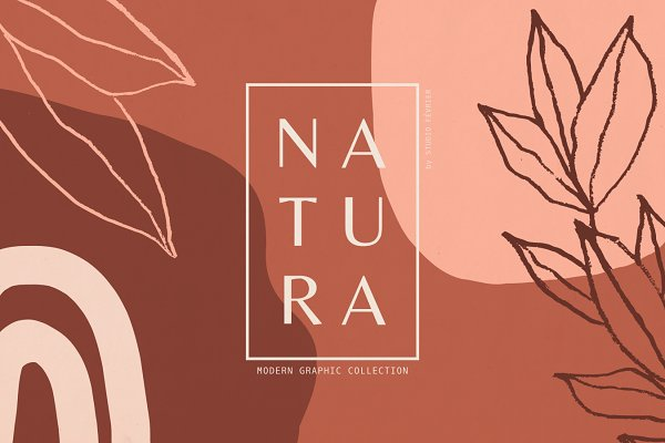 Natura | Modern Graphics Set