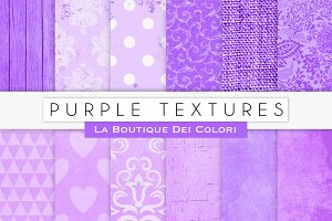 Purple Digital Textures