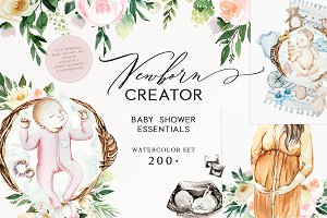 Newborn Creator & Baby Shower