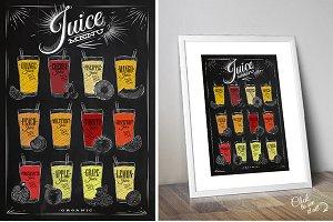 Set Juice Posters