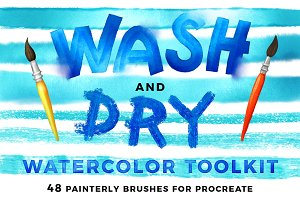 Wash & Dry // Watercolor Toolkit