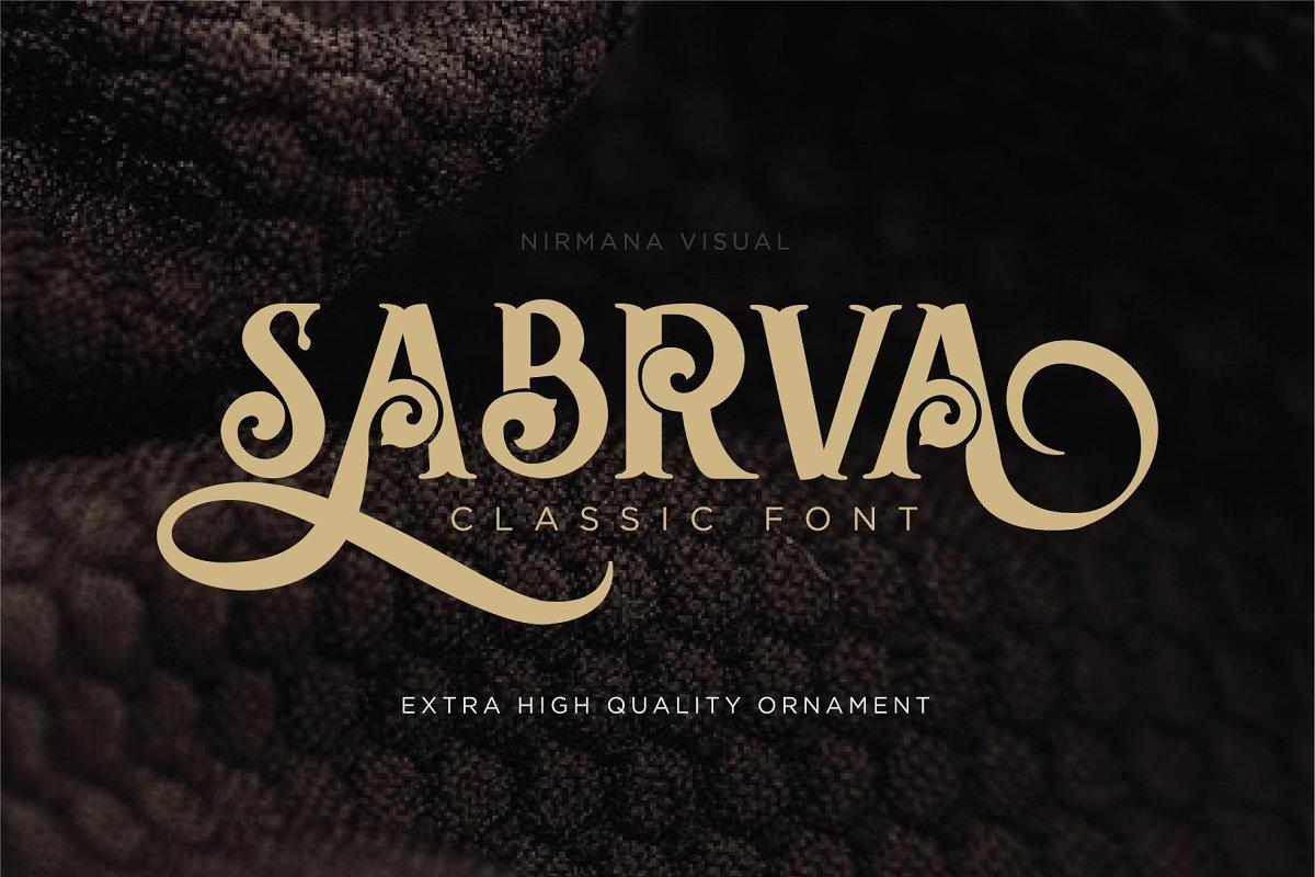 Sabrva + Extra Ornament