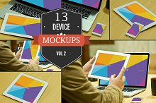 Apple Device PSD Mockups Vol. 2