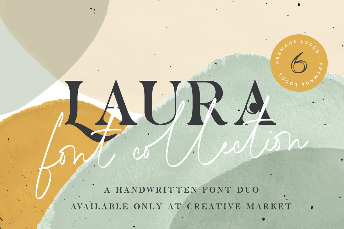 Laura - Font Collection & Logos