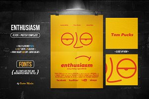 Enthusiasm - Flyer