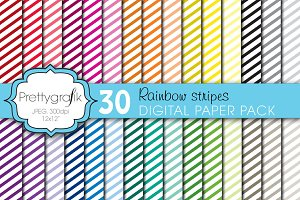 mini stripes digital paper
