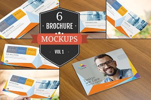 Creative Brochure Mockups Vol. 1
