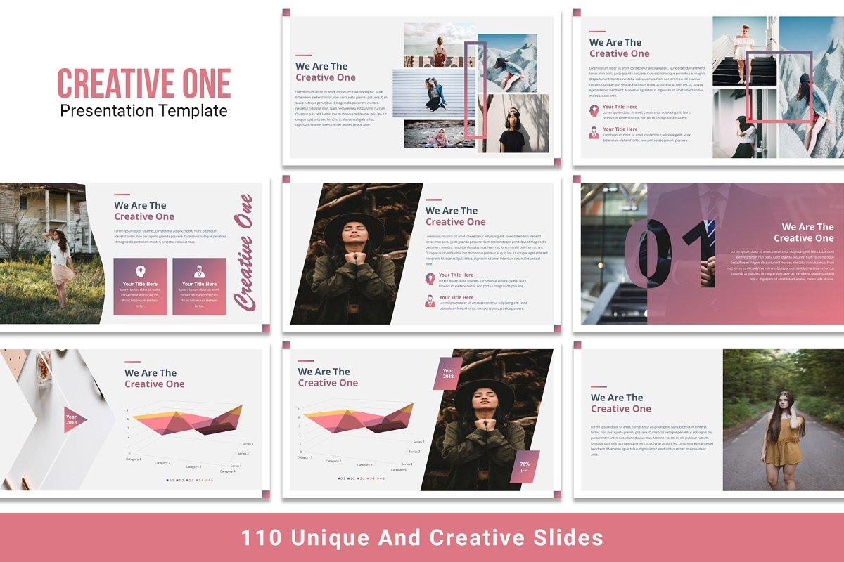 Creative One Keynote Template
