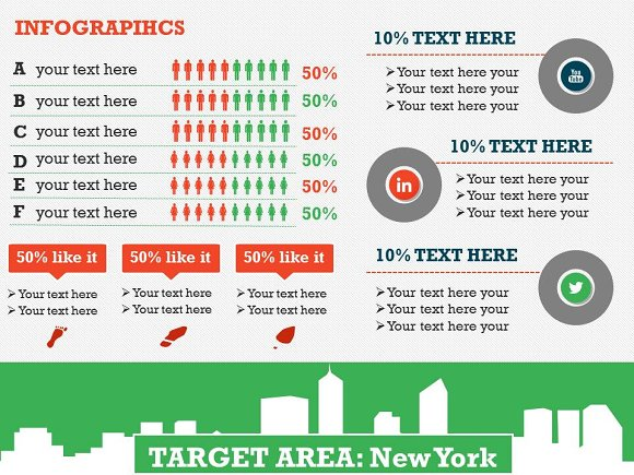 target market 1 powerpoint template presentation templates