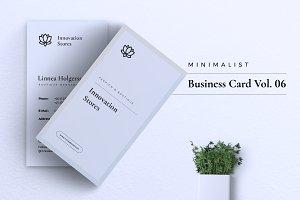 Feminine Business Card Vol. 06