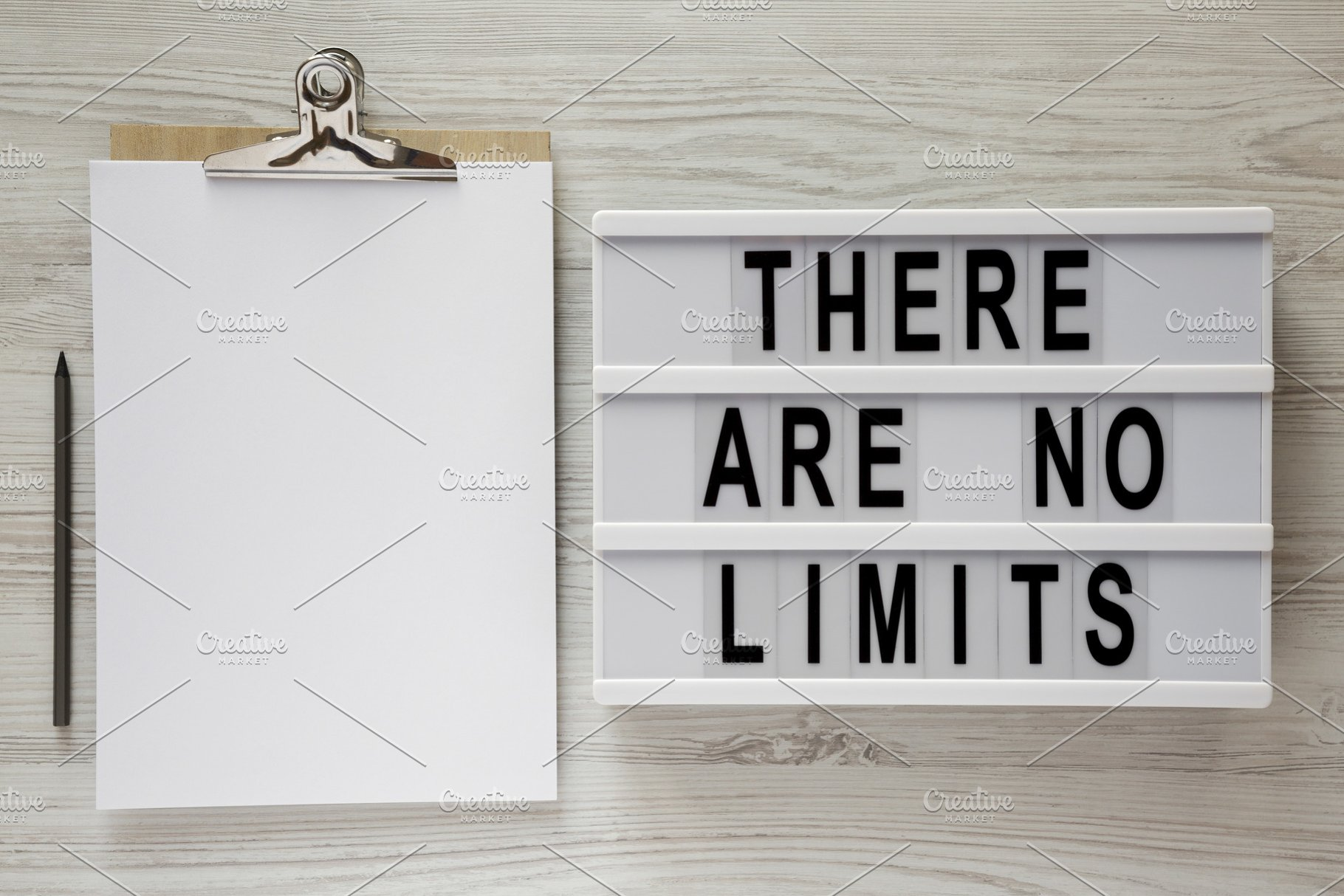 Lightbox 'There are no limits'