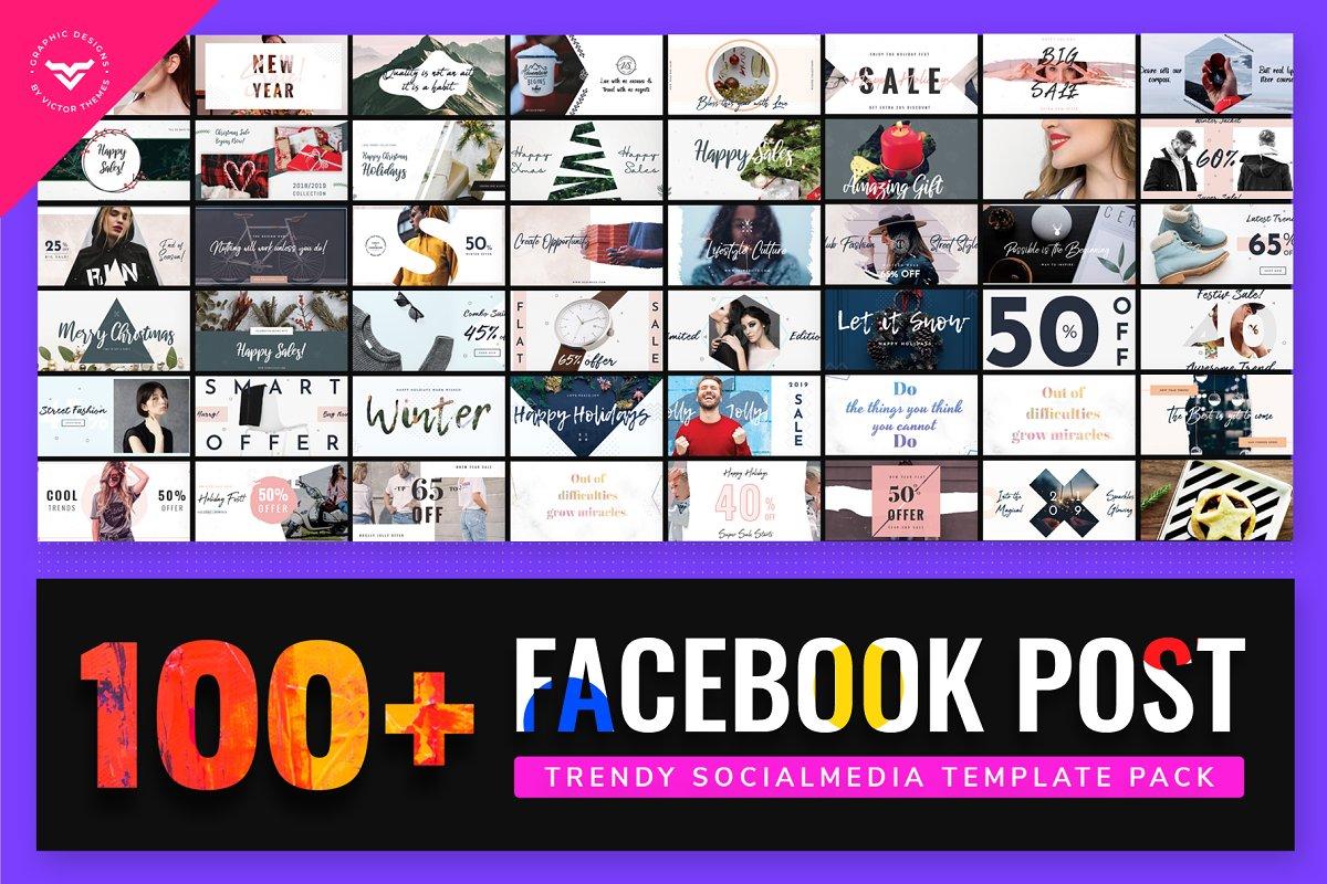 Facebook Post Template Bundle III