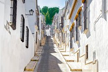 Beautiful Street in Estepa. by  in Architecture