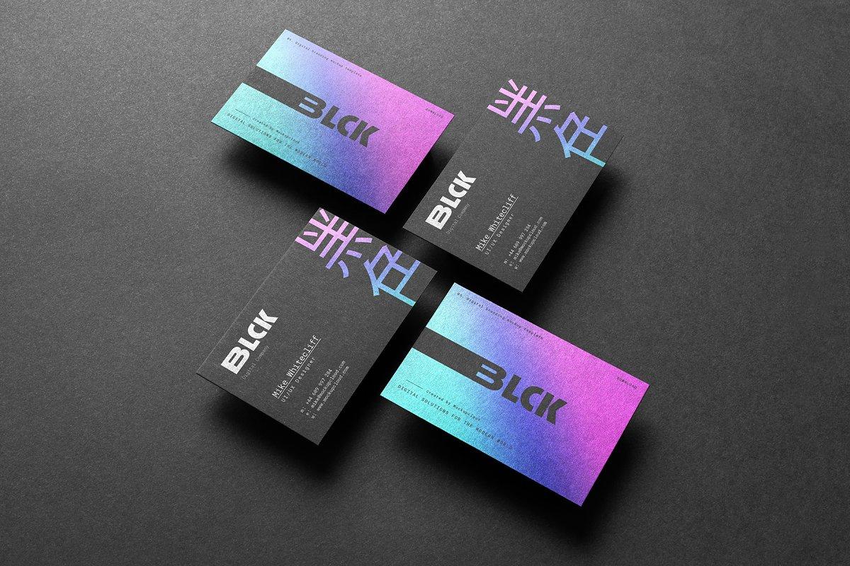 Blck Branding Mockup in Branding Mockups - product preview 11