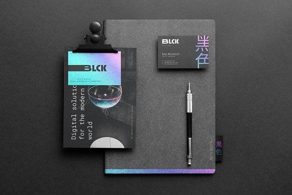 Blck Branding Mockup in Branding Mockups - product preview 13