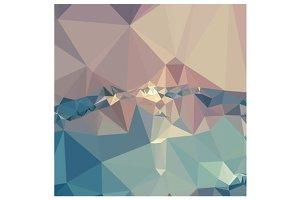 Opera Mauve Abstract Low Polygon Bac