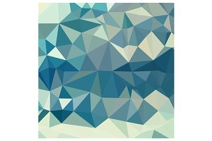 Skobeloff Green Abstract Low Polygon
