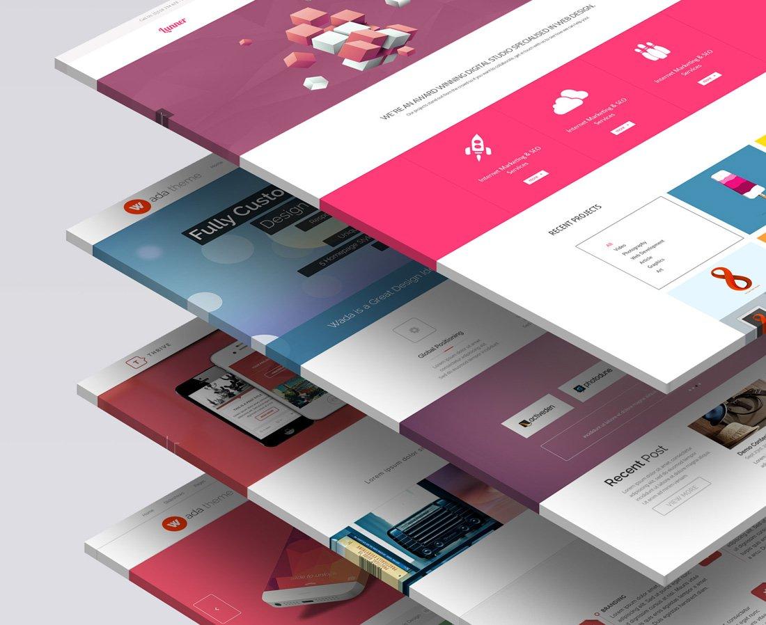 3d Website Mock Up 1 Product Mockups Creative Market