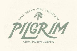 Pilgrim Font Collection (3 Fonts)