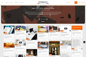 Pinnaite - Pinterest WordPress Theme